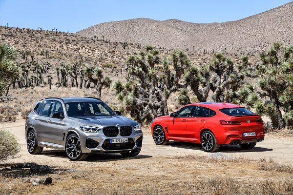 Bmw X3 M et X4 M 2019 : Des SUV qui ont du coffre !