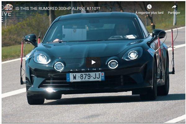 [Vidéo] Alpine teste une A110 sur le Nürburgring