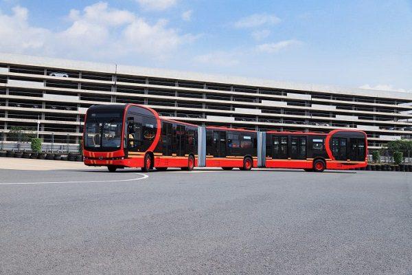 Record : BYD lance le plus long bus électrique au monde