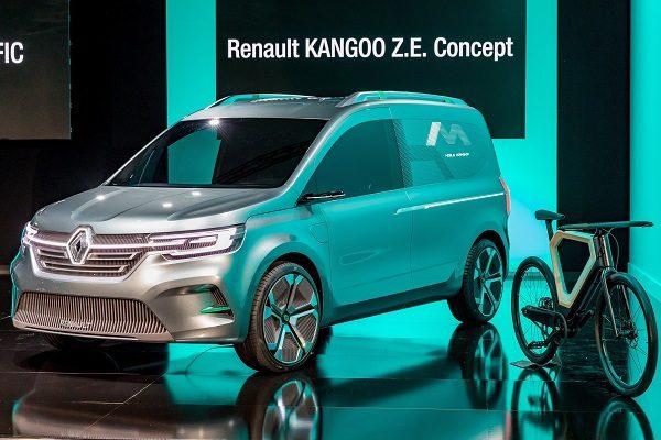 Renault Kangoo Z.E. Concept, pour rendre le Kangoo de nouveau sexy