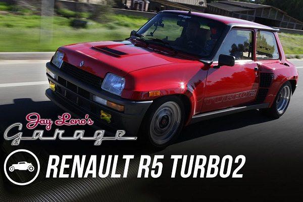 [Vidéo] La Renault R5 Turbo 2, star du Jay Leno's Garage