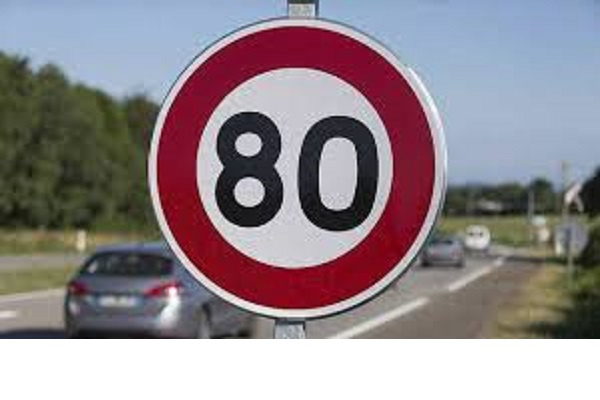 Les 80 km/h, un sujet toujours sensible et d'opposition !