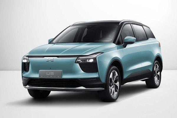 Aiways U5 : le premier SUV électrique chinois arrivera en France dès 2020