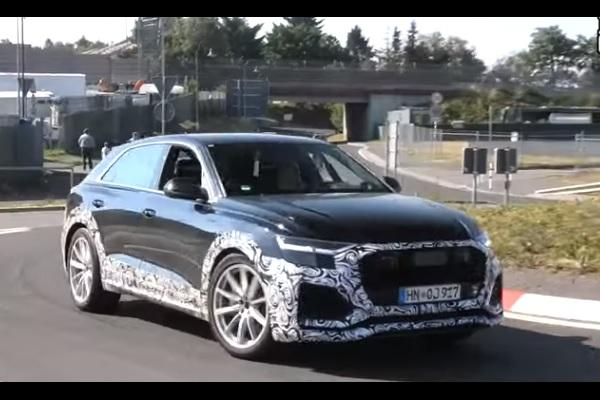 [Vidéo] Audi RS Q8 : il se dévoile sans camouflage et en essais sur le Nürburgring
