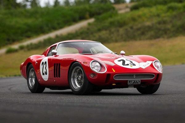 La Ferrari 250 GTO : une œuvre d'art officielle