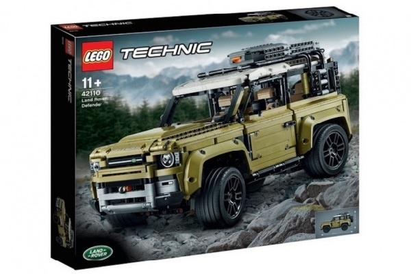 Lego Land-rover defender