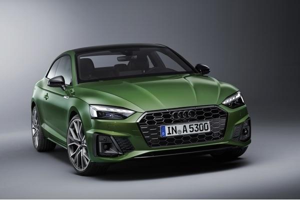 Audi A5 : petit restylage esthétique et arrivée d'une hybridation légère