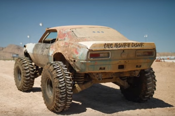[Vidéo] The Honky Ponk : la Camaro des monster-truck