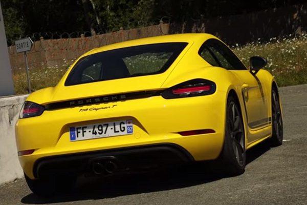 [Vidéo] Essai Porsche 718 Cayman 2.0i T 300ch : une alternative crédible au Cayman S ?