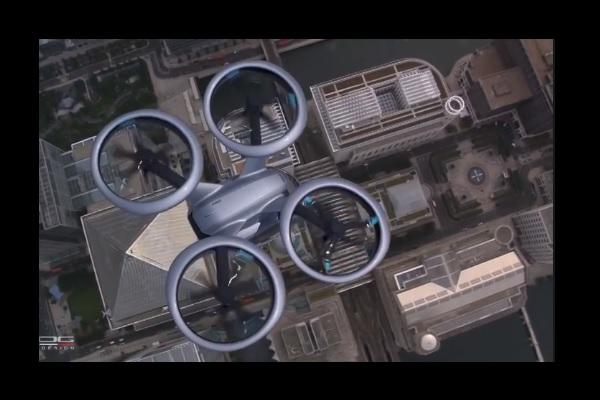 [Vidéo] Et pour Noël ? Une voiture volante