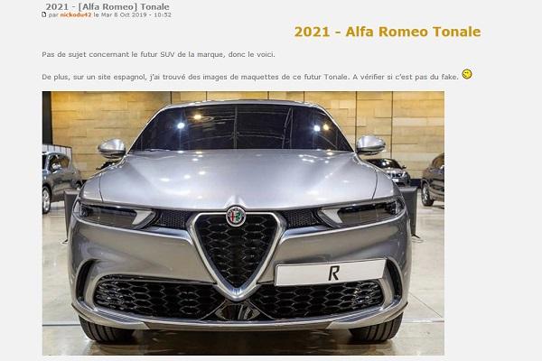 Alfa-Romeo Tonale : le petit SUV qui doit (encore) relancer le constructeur italien !