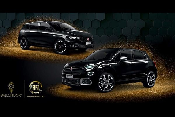 Fiat 500 X et Fiat Tipo « Ballon d'Or » : deux séries limitées pour les amoureux de football