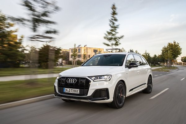 Audi Q7 TFSI e quattro : une version hybride rechargeable