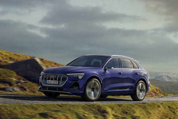 Audi e-tron quattro : une autonomie revue à la hausse et une version S line qui débarque
