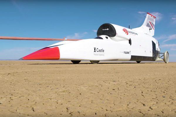 [Vidéo] 1010 km/h au compteur pour la Bloodhound LSR