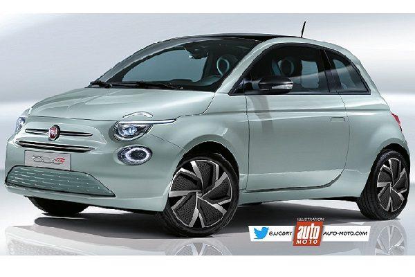 Nouvelle Fiat 500 électrique, elle sera dévoilée au salon de Genève