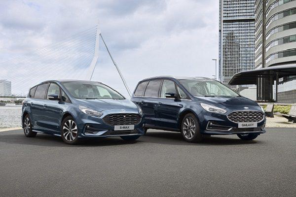 Ford S-Max et Galaxy : l'hybridation arrive en 2021