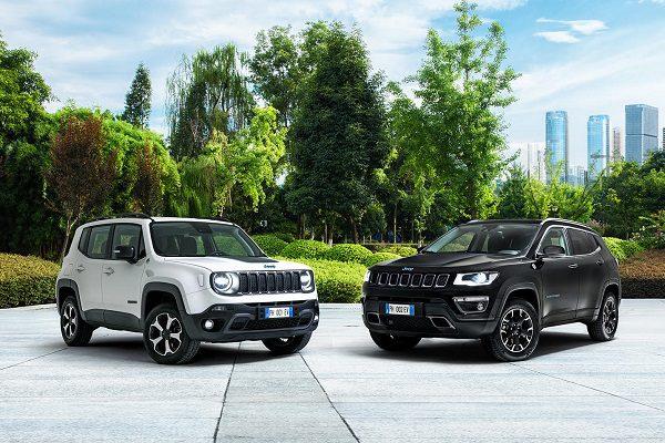 Jeep Renegade et Compass 4xe : les détails des versions hybrides rechargeables