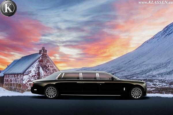 3 millions d'euros pour la version limousine de la Rolls-Royce Phantom