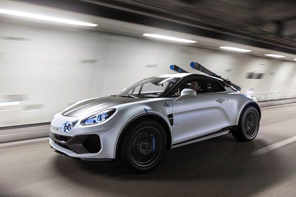 Alpine A110 SportsX (2020) : quand la berlinette timide devient un SUV affirmé !