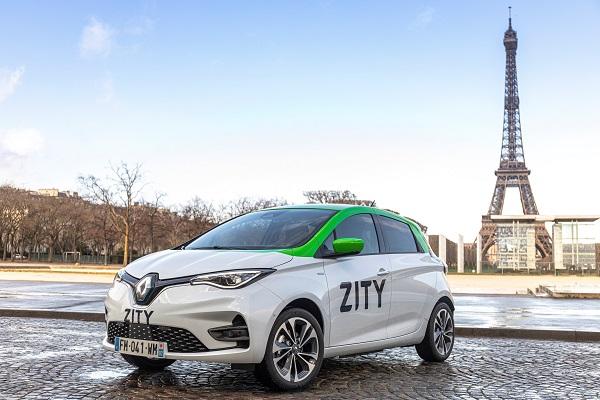 Zity : le libre-service automobile débarque à Paris avec Renault