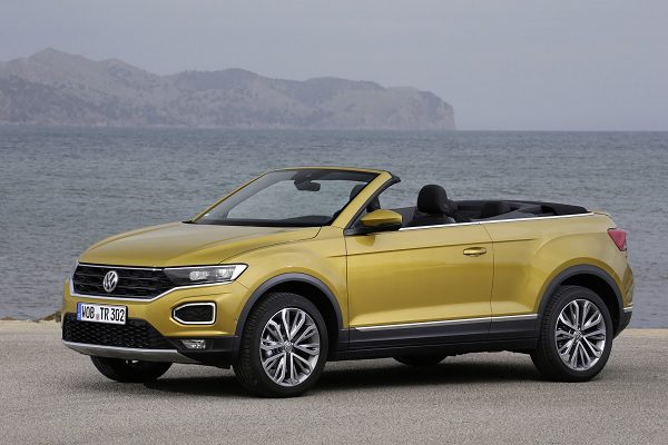Volkswagen T-Roc cabriolet : 34 600 € comme prix de départ