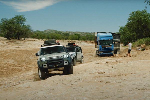 [Vidéo] Une nouvelle mission pour le Land Rover Defender
