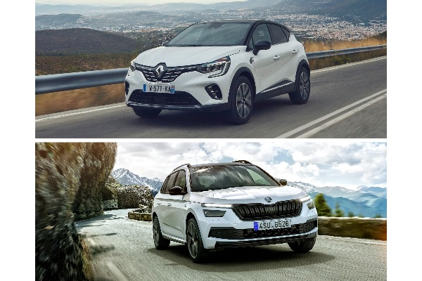 Renault Captur VS Skoda Kamiq : deux SUV au coude à coude