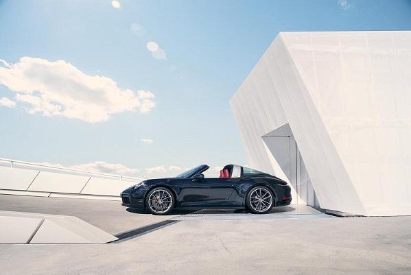 Porsche 911 Targa (type 992): le charme du coupé, les joies du cabriolet