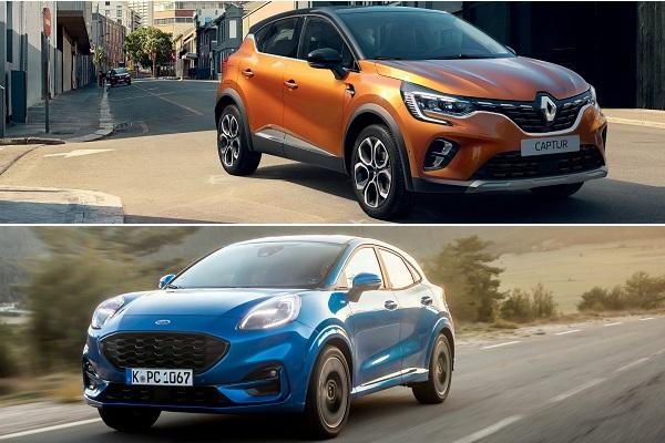 Renault Captur vs Ford Puma : lequel sera le SUV urbain de référence ?
