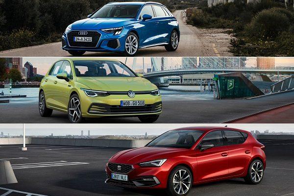 Audi A3, Seat Leon, Volkswagen Golf : on vous donne tous les prix de ces «clones» du groupe VAG