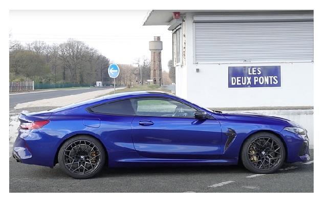 Essai BMW M8 Coupé Compétition V8 625ch 2020