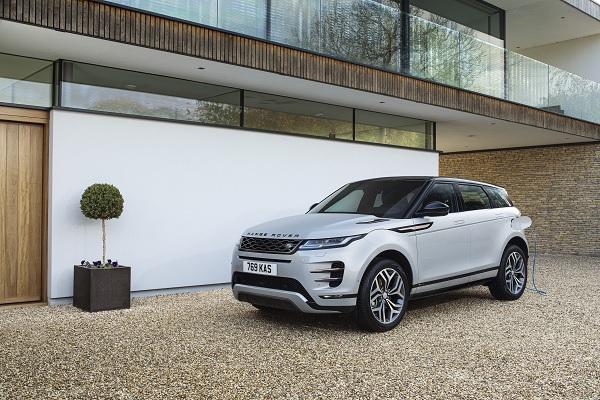 Land Rover Evoque et Discovery Sport passent à l'hybride rechargeable