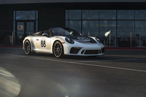 """La dernière Porsche 911 Type 991 """"adjugée, vendue"""" pour la lutte contre le Covid 19"""