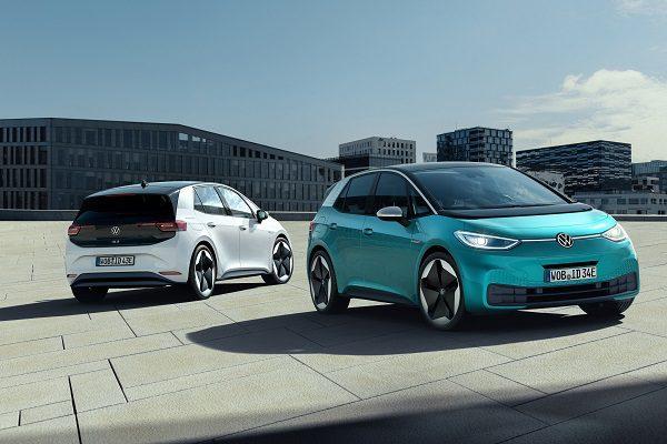 Commandes ouvertes pour la Volkswagen ID.3