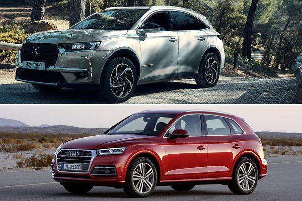 Le match: DS-7 Crossback VS Audi Q5