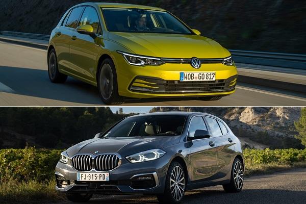 Match : la Golf 8face à la BMW Série 1