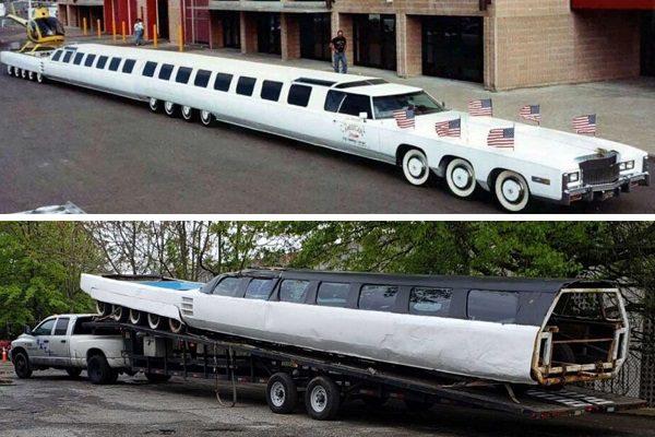 Une nouvelle jeunesse pour la limousine la plus longue du monde