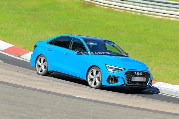 Audi S3 2021: sans camouflage, la version sportive (mais discrète) se dévoile