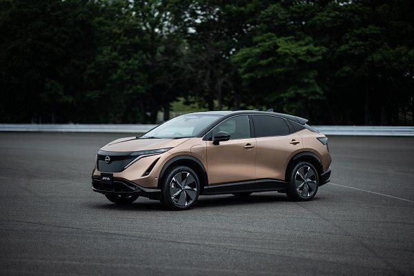 Nissan Ariya : le crossover coupé électrique cousin du Qashqai