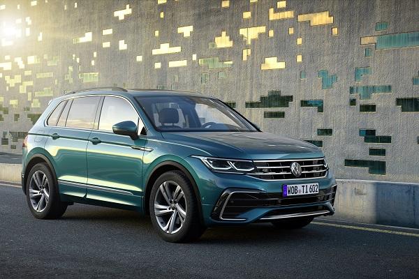 Volkswagen Tiguan (2021) : tout savoir sur le restylage du SUV compact