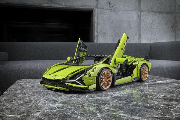 La Lamborghini Sian version Lego Technic