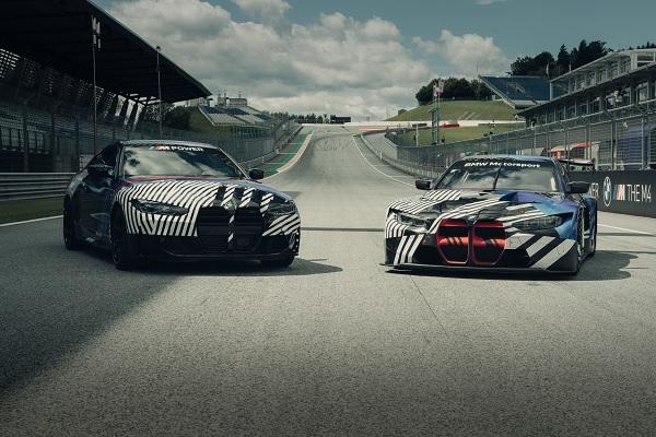 Bmw M4 Coupe et M4 GT3