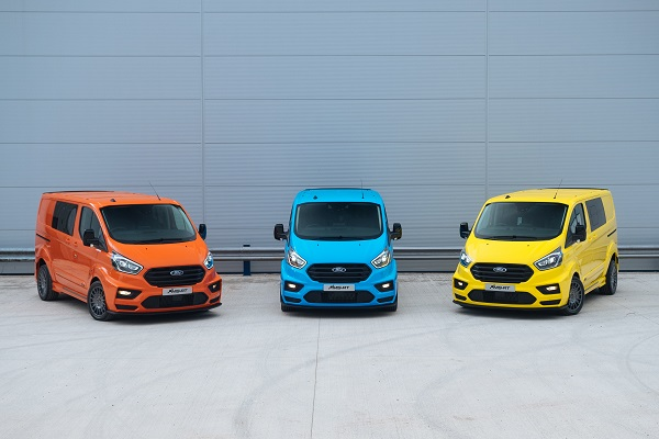Ford today announced striking rally-inspired conversions of its popular Transit Custom and Transit Connect vans developed by vehicle design specialist MSRT will be available direct from Ford Transit Centres in selected European markets.
