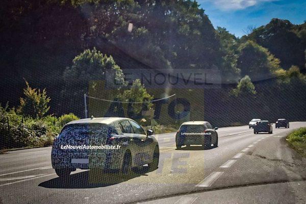La nouvelle Peugeot 308 (2021) déjà sur la route avec des prototypes en essais
