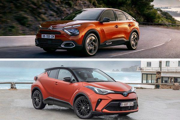Citroën C4 2020 ou Toyota C-HR: le comparatif des berlines