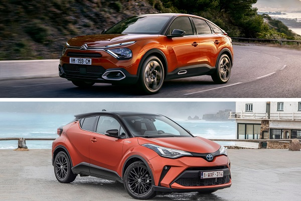 TOYOTA - C4 vs C-HR