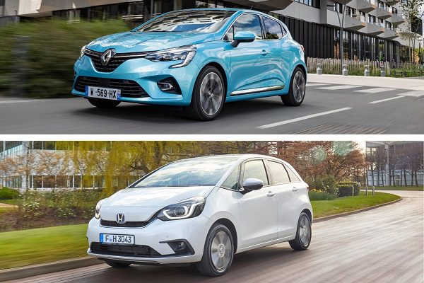 Renault Clio V E-Tech et Honda Jazz e:HEV: alliées ou ennemies face à la Yaris?