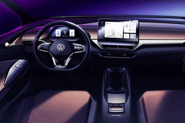 Découvrez tous les détails de l'intérieur de la Volkswagen ID.4