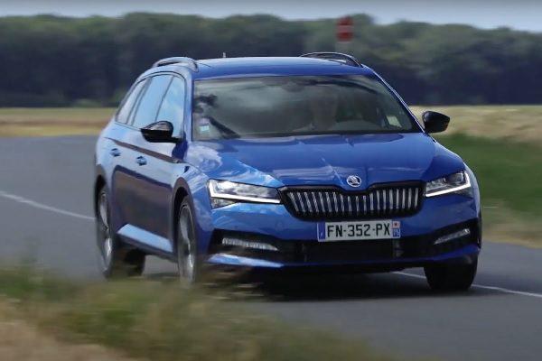 [Vidéo] Essai Skoda Superb Combi 1.4 TSI PHEV 218 Sportline : le break hybride rechargeable idéal !